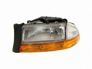 Left Headlight Assembly H347vr For Dakota Durango 2002