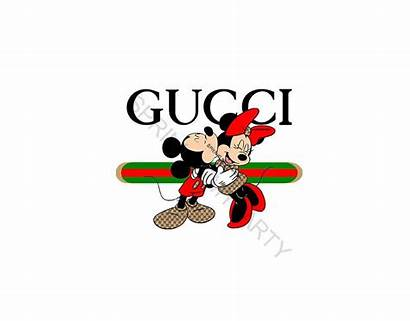 Mickey Mouse Clipart Gucci Minnie Disney Svg
