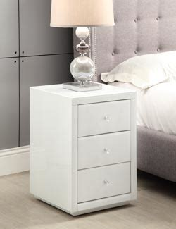 white mirrored nightstand black and white bedside tables white mirrored bedside