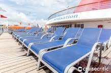 carnival sensation cruise ship sun decks photos cruise