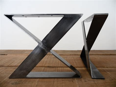 metal desk legs 16 x frame flat steel table legs bench legsheight