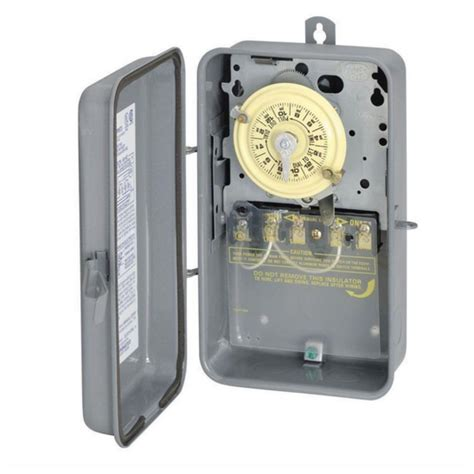 outdoor light timer switch intermatic outdoor light lighting pool timer time