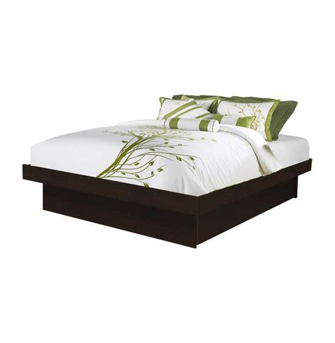 queen platform bed contempo space