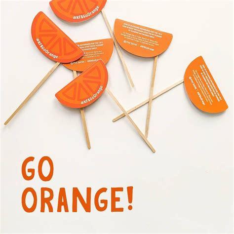 orange   color  childhood hunger