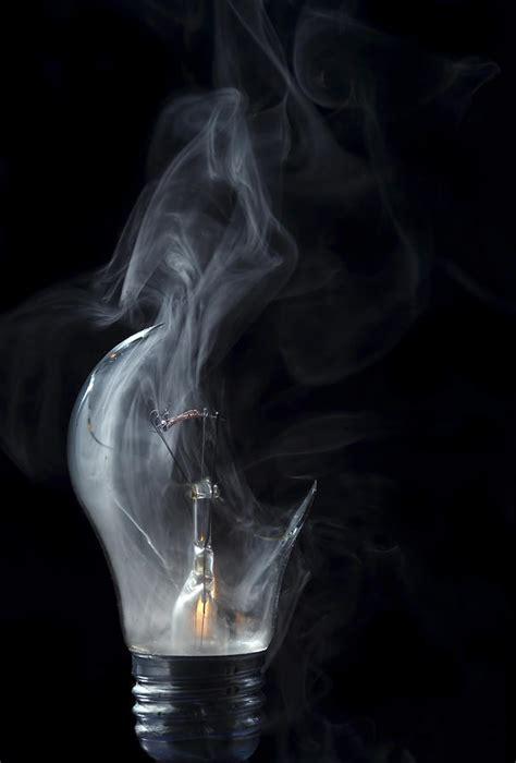 Broken Light Bulb By Michal Boubin