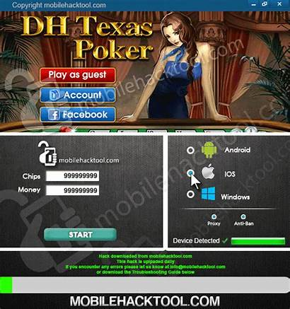 Poker Texas Dh Hack Cheats Chips Android