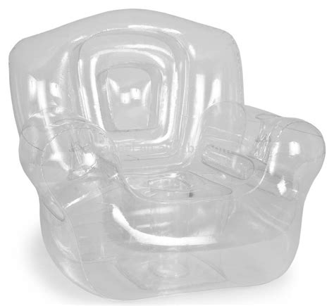 popular transparent inflatable corner chair air sofa