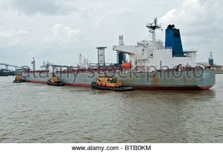 Tugboat New Orleans by Louisiana New Orleans Tugboats Aid Ship In At