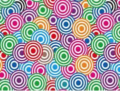 Pop Art Design Circles Pop Art Patterns Vector Pattern Art Pattern Google Search