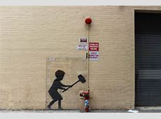 Where Banksy Left His Mark in NYC Tracy's New York Life