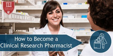 how to become a clinical research pharmacist jli