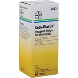 Ketodiastix Reagent Test Strips, 50pack  Avacare Medical