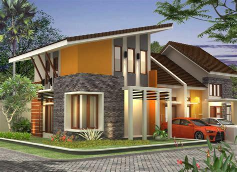 model atap rumah miring minimalis terbaru pt hilmy jaya
