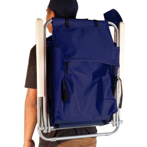 Gear Backpack Chair Blue by Blue Backpack Chair Folding Portable Chair Solid
