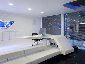 futuristic home office design   Quecasita