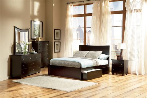 miami platform bed flat panel footboard