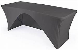 Folding Table with Stretch Cover 6' Black Booth