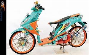Modifikasi Motor Honda Beat Model Thailook  Thailand Look