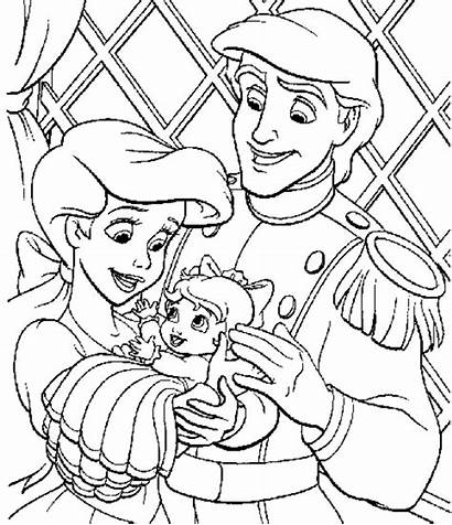 Coloring Princess Disney Activity Sheets Child Support