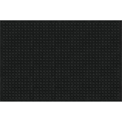Black Doormat by 48x72 In Large Black Recycled Rubber Commercial Door Mat