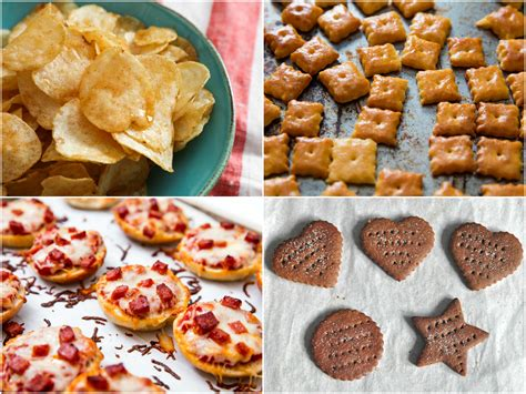 22 Homemade Chips, Crackers, And Snacks To Satisfy All