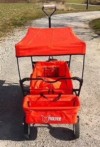 Bollerwagen Mit Dach Faltbar : fuxtec faltbarer bollerwagen mit dach rot jw76a strandwagen klappbar ebay ~ Orissabook.com Haus und Dekorationen