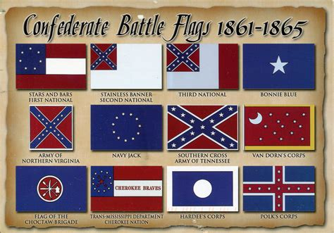 the state of siege battle flags of the confederate states of america