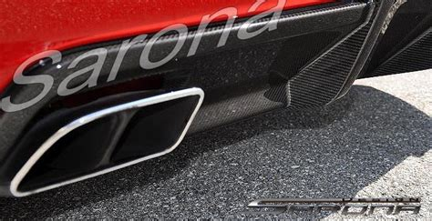 custom mercedes sl convertible exhaust tips