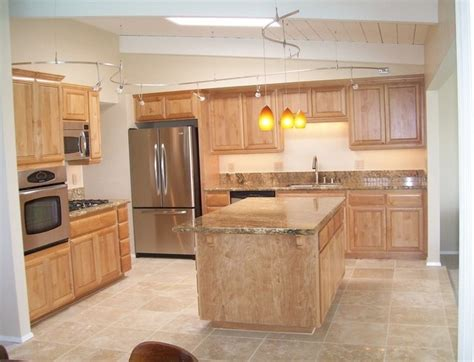 Kitchen Remodel With Travertine Tile Floors  Traditional