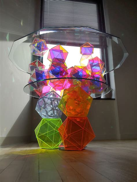 Amazing Sparkle Palace Cocktail Table by Sculpture Johnfoster