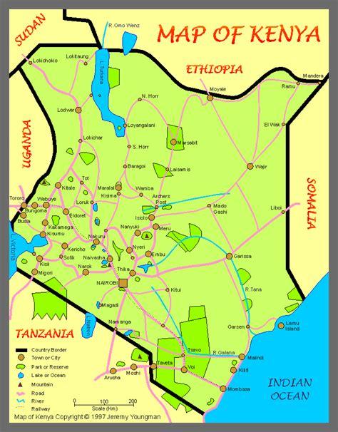 kenia mappa province