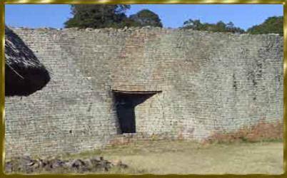Mauer Ohne Mörtel by War Simbabwe Das Historische Goldland