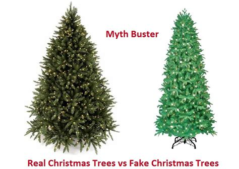 what is the best christmas tree real vs artificial