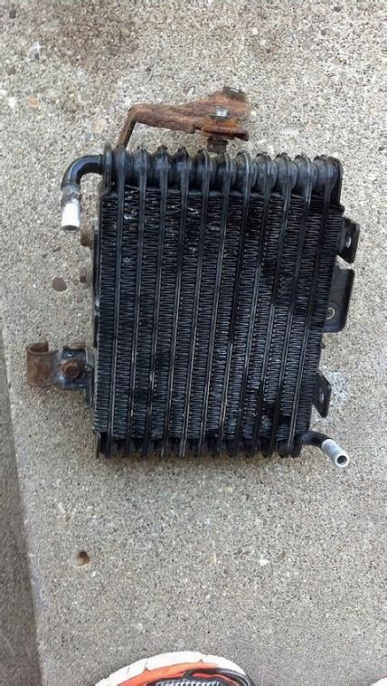 stock sst oil cooler leak evolutionm mitsubishi lancer