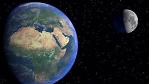 Terre De Lune Eschau : la terre et la lune blender 3d youtube ~ Premium-room.com Idées de Décoration