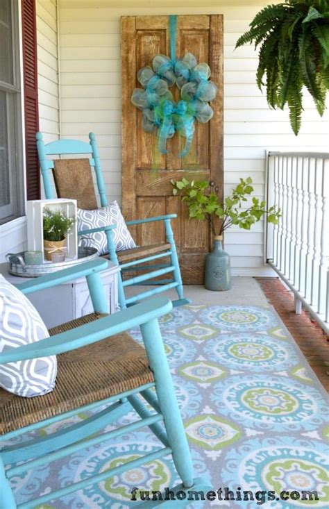 Fabulous Front Porch Makeovers Decorating Your Small Space