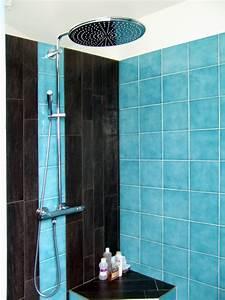 Meuble Salle De Bain Turquoise : incroyable meuble de salle de bain turquoise 3 jeux de ~ Dailycaller-alerts.com Idées de Décoration