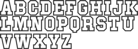 College Sports Fonts