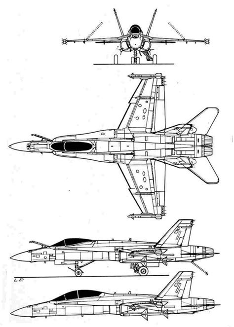 F18 Diagram Of Engine by F18 3v Plans Aerofred Free Model Airplane Plans