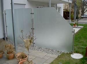 Milchglas Für Balkon : windschutz terrasse ~ Markanthonyermac.com Haus und Dekorationen