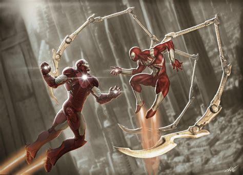 "【spider  Man】 On Twitter ""realistic Iron Man Vs Iron"