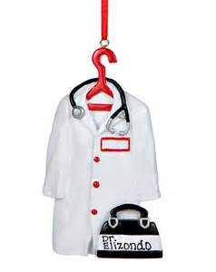 doctor s coat personalized ornament
