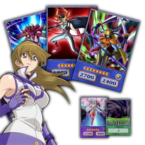 Yugioh Evil Deck by Alexis Rhodes Deck Anime Style