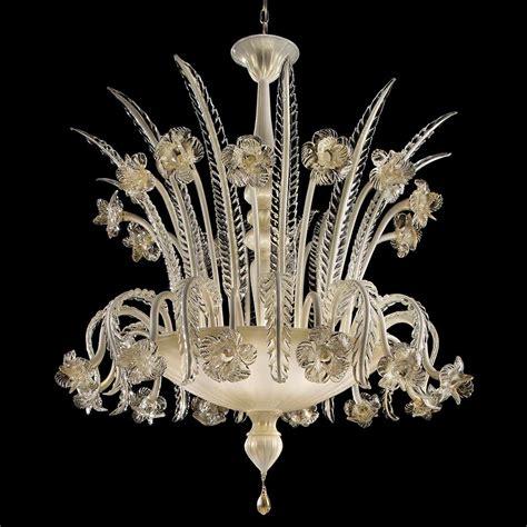 Glass Chandelier by Primavera Chandelier Italian Glass Chandelier