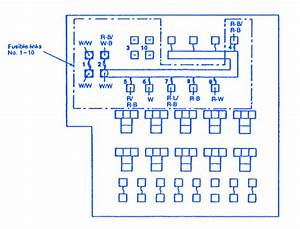 Eagle Talon 1997 Fuse Box    Block Circuit Breaker Diagram