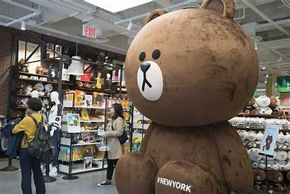 Line Friends Square Times Nyc Shopping Locations