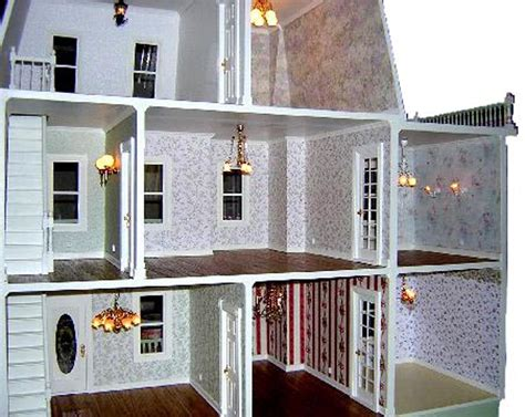 Connecting Ceiling Light by Wiring A Dollhouse
