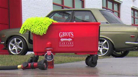 Griot's Garage Ultimate Car Wash Bucket Youtube