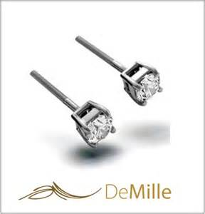 black stud earrings for guys men earrings demille steel jewelry