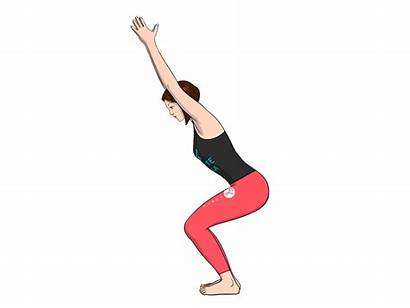 Chair Pose Yoga Standing Poses Forte Shoulders